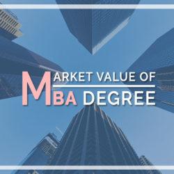 Market value of MBA Degree